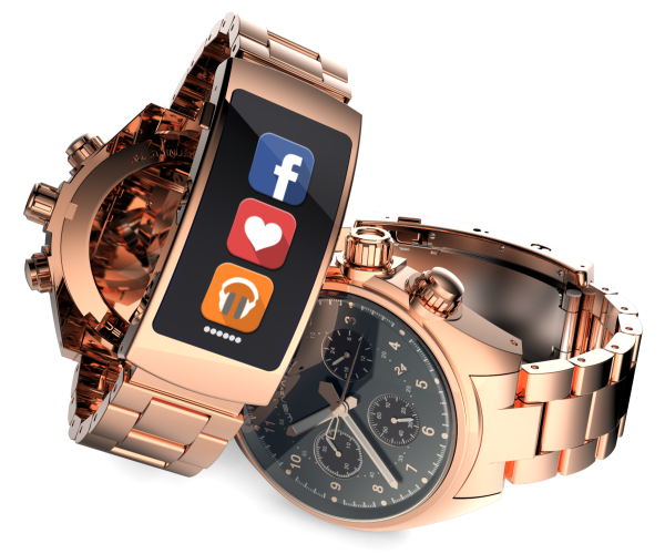 Rose Gold Metal Band_600x600